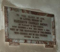 Elizabeth <I>Daubeny</I> Crawley-Boevey