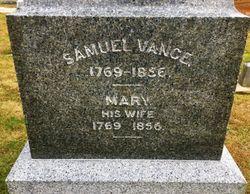 Mary Jane <I>Blackburn</I> Vance
