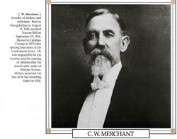 """Capt Claiborne Walker """"Clabe"""" Merchant"""