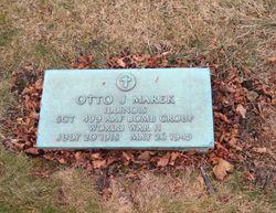 Sgt Otto J. Marek