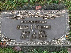 Helen Rebecca <I>Howes</I> Dickson
