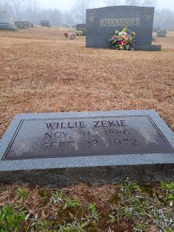 Willie Zekie Alexander