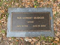 Sue <I>Lowery</I> Bridges