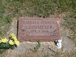 Barbara Juanita Lohrmeyer