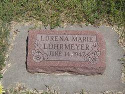 Lorena Marie Lohrmeyer