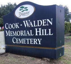 Cook-Walden Memorial Hill Cemetery