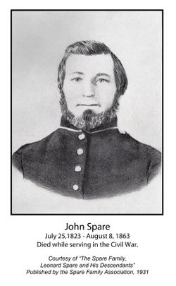 Pvt John Spare