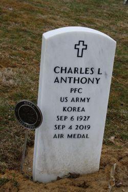PFC Charles L Anthony