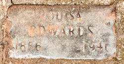 Louisa <I>Stubbs</I> Edwards