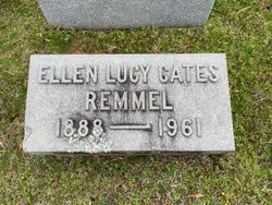 """Ellen Lucy """"Nell"""" <I>Cates</I> Remmel"""