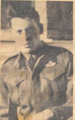 Pvt Gordon Augustus Comeau