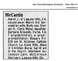Aaron Joseph McCartin