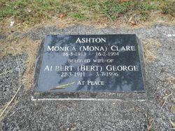 "Monica Clare ""Mona"" <I>Hanning</I> Ashton"
