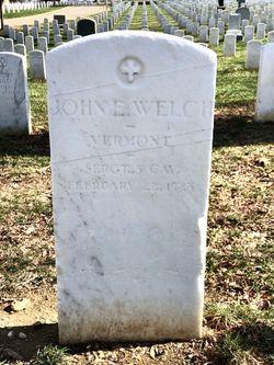 Sgt John E Welch