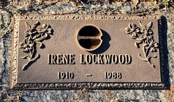 Irene Effie <I>Martin</I> Lockwood