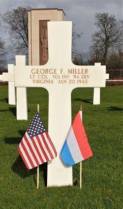 LtCol George F Miller