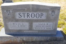 "Reuel Lee ""Pete"" Stroop"