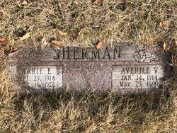 Marie E. <I>Morton</I> Sherman