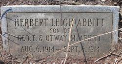 Herbert Leigh Abbitt