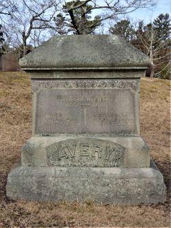 Martha E <I>Burnham</I> Avery