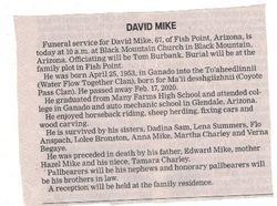 David Mike