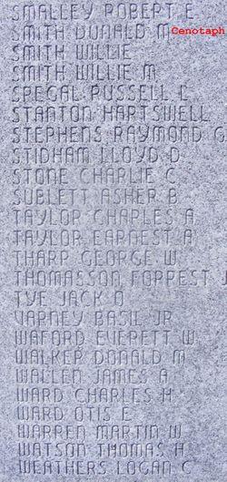 Sgt George Washington Tharp