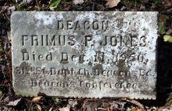 Deacon Primus P. Jones