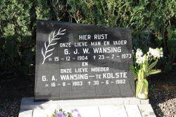 Gerhardus Johannes Wilhelmus Wansing