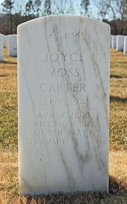 Joyce <I>Voss</I> Carter