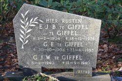 Gerrit Engelbertus te Giffel