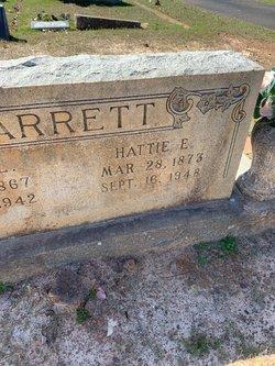 """Harriett Emma """"Hattie"""" <I>Blackstock</I> Garrett"""