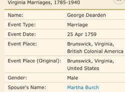 Martha <I>Burch</I> Darden