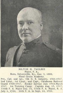 Milton Hager Taulbee