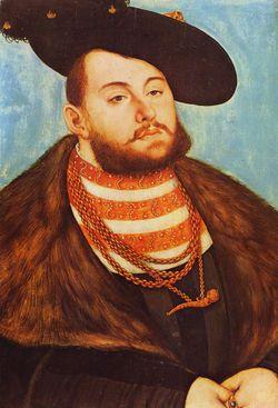 Johann Friedrich I von Sachsen