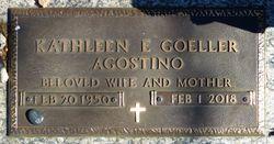 """Kathleen Elizabeth """"Kathy"""" <I>Goeller</I> Agostino"""