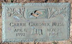 Carrie <I>Gardner</I> Muse
