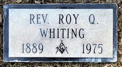 Rev Roy Quiner Whiting
