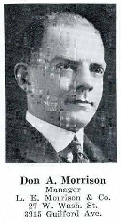 Donald Ambrose Morrison Sr.