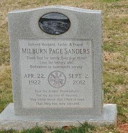 Milburn Page Sanders