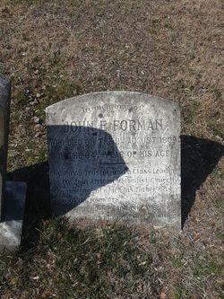 John E. Forman