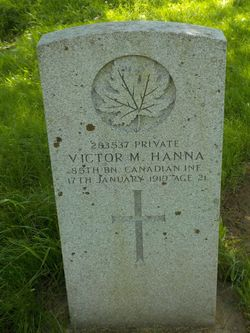 PVT Victor Middleton Hanna