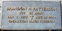 Sgt Brandon Hayes Patterson
