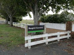 Rangiriri Cemetery