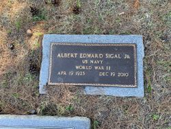 """Albert Edward """"Tito"""" Sigal Jr."""