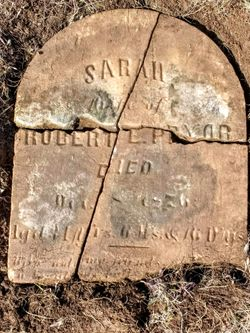 Sarah <I>Tracey</I> Pryor