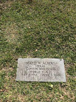 CPT Mayo William Albert