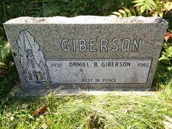 Daniel Bertram Giberson