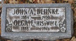 John August Behnke