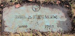 Paul L Frykman