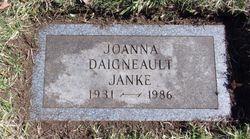 Joanna <I>Daigneault</I> Janke